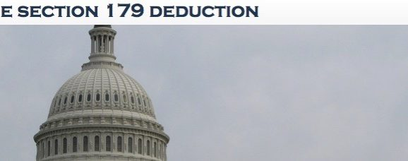 Last Chance for Section 179