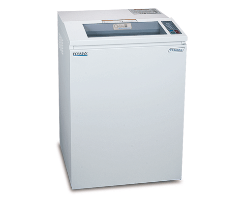 formax paper shredders for document security