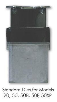 Lassco corner rounding machine standard die