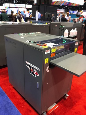 Tec Lighting New Mini UV Coating Machine