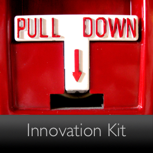 Picture of Fire Alarm pull fromt he Adobe innovation kit