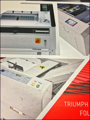 UV Coater and Roll Lamination help tell a story in print