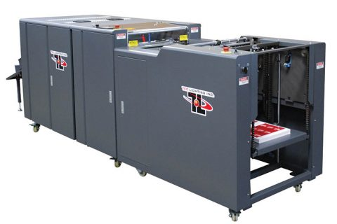Dual Reservoir UV Coating Machine
