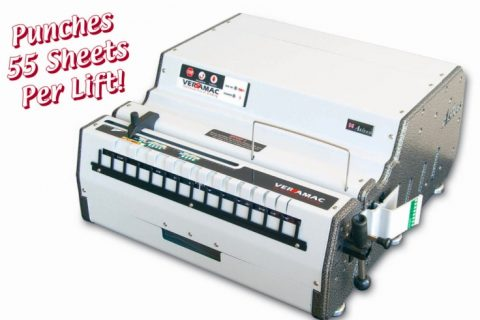 Picture of a akiles versamac binding machine